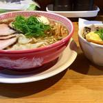 麺切り 白流 - 特製醤油そば ミニ焼豚丼