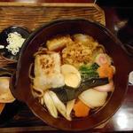 島彦本店 - 鍋焼きうどん1250円