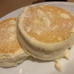 むさしの森珈琲 - パンケーキ