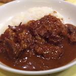 カレーハウス リオ - お肉たっぷりのビーフカレーでした!