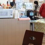 えび伝茶屋 - お茶はセルフ