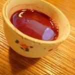 11697986 - すっぽんの血のワイン割り 非常に飲みやすくなってます