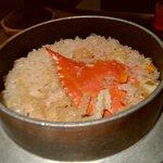 蟹御殿 - 料理写真:カニ飯