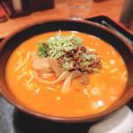 中国料理 萬里 - 白胡麻坦々麺 850円