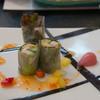 望湖楼 - 料理写真:マーブルポークと砂丘長芋の冷製春巻き