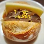 ベーカリー サンシロウ - 焼栗バター