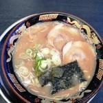 風来軒 - とんこつラーメン(600円)