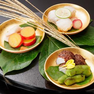 技術を継承した職人が作る日本料理