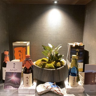 【日本酒都内11選】に選ばれたお店。飲み放題の種類も豊富◎