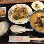 龍宮 - 料理写真:担々麺セット=980円 ※10月から20円の値上げ