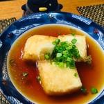 べんけい - 揚げ出汁豆腐