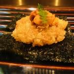 116996249 - 生雲丹と焼き飯(1,400円)
