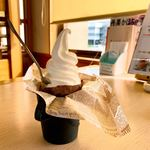 さつまいも農カフェきらら - 焼きイモソフトクリーム