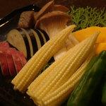 1170675 - 焼き野菜盛り合わせ