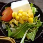 鰻彩 のとや - うな茶漬け膳・サラダ