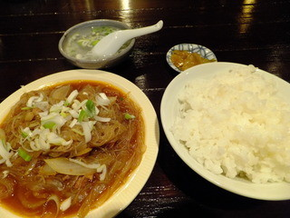 台湾料理 五味香 - 豚肉とハルサメの煮\680