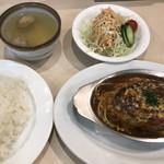 街の小さなレストラン 9.9.9 - 料理写真:ハンバーグ定食1,280円