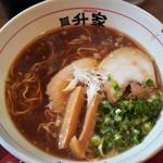 倉敷らーめん 升家 - 倉敷醤油ラーメン 600円