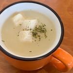 Luce - 料理写真:チキン南蛮ランチのスープ