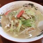 まつもと食堂 - 料理写真:長崎ちゃんぽん  850円