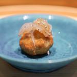 温石 - 蓮根饅頭、生しらす