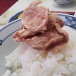 11701269 - 肉 on the ライス
