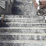 さくら亭 豊龍閣 - 玄関までは階段を上って…。