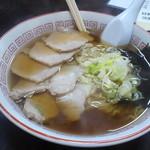 幸亭 - 肉そば 650円