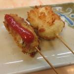 ヨネヤ - 鶏のむね肉チーズ挟み・ハモ