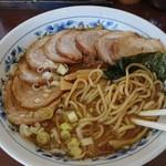 次念序 - 2019年9月 中華そば+肉盛り 650+300円