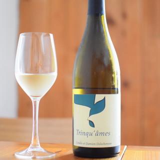 ワインもフランスを中心に豊富にご用意しております。