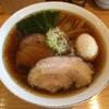 中華そば トランポリン - 料理写真:中華そば(820円)+味玉(130円)+大盛(130円)