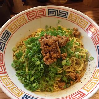 煮干しと豚 - 料理写真:汁なし坦々麺690円