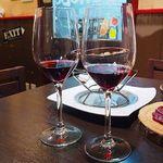 肉&生ハム 隠れ家バル ボノボ  - 利きワインを当てよう!