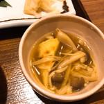 土鍋炊ごはん なかよし - カレー味の付け合せ