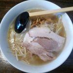 麺家'翔 - 塩ラーメンのアップ