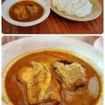 マハラジャ - チキン(骨付)カレー