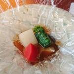 麻布淺井 - 野菜とクエ