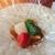 麻布淺井 - 料理写真:野菜とクエ