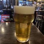82 - ドリンク写真:キリンラガービール1paint Oct/2019