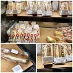 ザ・サンドイッチスタンド - サンドウイッチの種類は豊富
