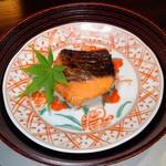 なごみ一席 成庵 - 秋鮭の西京焼き