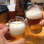 117022695 - 旧友とキリンラガーで乾杯〜〜