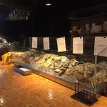 117022821 - カウンターに並ぶ牡蠣!