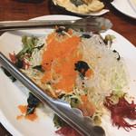 釣船茶屋 ざうお - 宝石サラダ?w