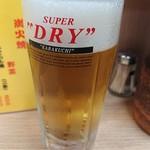 117025690 - 2019年9月 生ビール(中) 500円