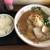 二重焼き 九ちゃん - 料理写真:チャーシューメンとライス