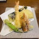 寿し和 - 天ぷら盛り合わせ