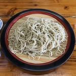 Yamabiko - ざる蕎麦900円。
