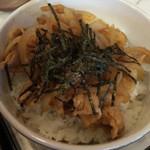 みどり食堂 - 料理写真:ミニ焼肉丼の拡大画像です。